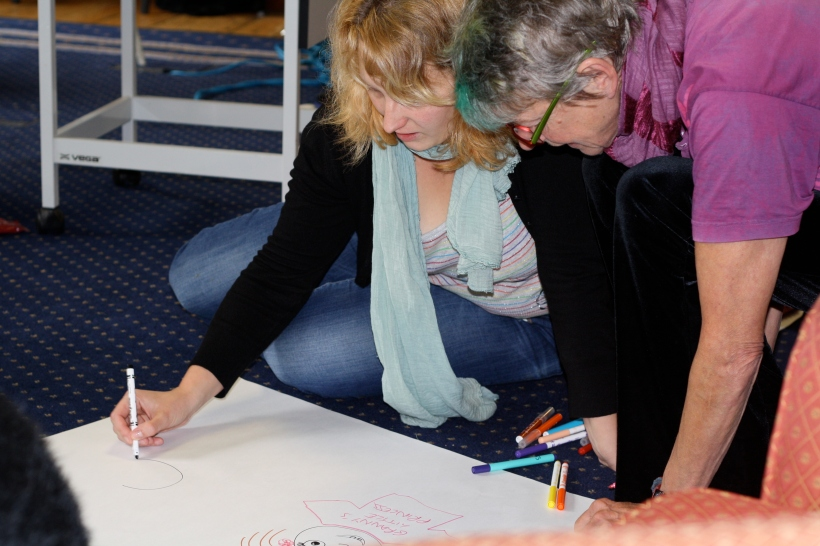 Thinking about how young children learn to 'do' boy or girl at the Gender Respect Residential.