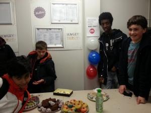 Boys bake sale